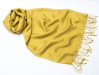 Шёлковый шарф желтого цвета, Москва