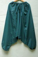 темно-зеленые индийские штаны алладины (афгани), купить в интернет-магазине. женские, мужские