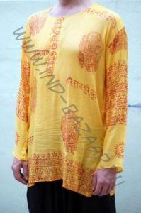Мужские индийские рубашка из марлевки (разные цвета)