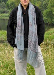 Тонкие индийские шарфы из мягкого хлопка, Москва