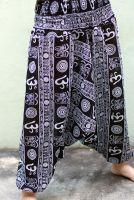 штаны алладины символ ом, купить в Москве