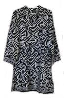 Женская длинная индийская рубашка (курта, туника). Купить с пересылкой по РФ и миру. Интернет магазин