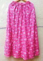 Длинная летняя юбка в пол с воланами, купить в СПб. Интернет магазин Санкт Петербург